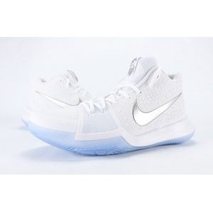 Nike Kyrie 3 - Men's - Basketball - Shoes - Kyrie Irving - White/Chrome