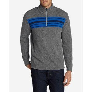 Long-Sleeve Sidecut 1/4-Zip Sweater
