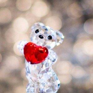 低至5折 萌翻小熊生日水晶Swarovski动物水晶饰品