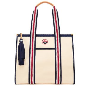 Tory Burch Embroidered-T Tote