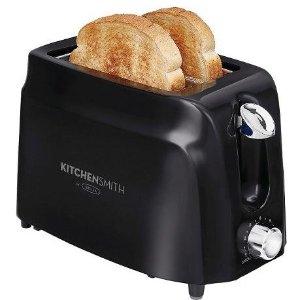 $8.99 Kitchen Smith by BELLA 2 Slice Toaster