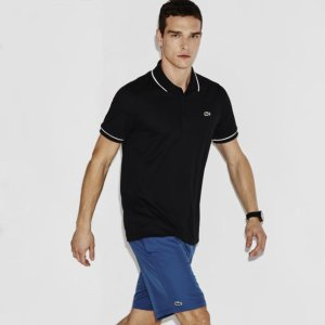$65.99($95)Lacoste Men's SPORT Ultra-Dry Piping Tennis Polo Shirt