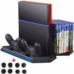 Zacro PS4 Vertical Stand Cooling Fan Dual Charging Station