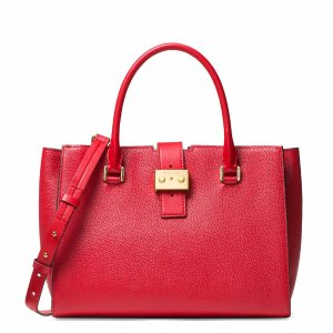 Bond Large Convertible Leather Satchel | Lord & Taylor