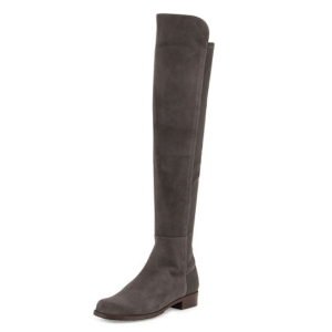 50/50 Suede Over-the-Knee Boot