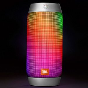 $79JBL Pulse 2 Portable Splashproof Bluetooth Speaker (Silver)