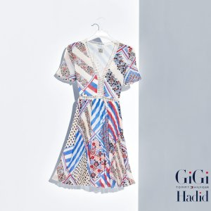 SILK CHIFFON DRESS GIGI HADID | Tommy Hilfiger