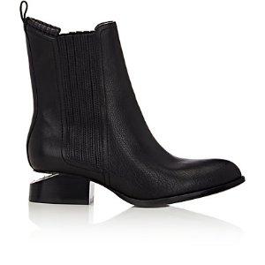 Alexander Wang Metal Cutout-Heel Anouck Jodhpur Boots | Barneys New York