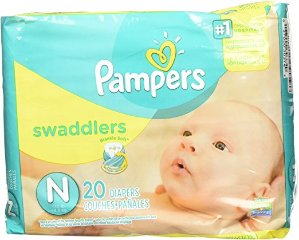 $8.99Pampers Swaddlers Newborn 240 Diapers (12 packs of 20)