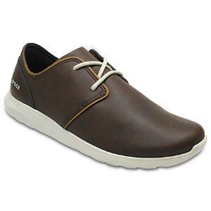 Men's Crocs Kinsale Leather Lace-Up