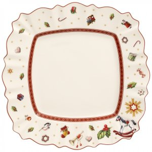 Toy's Delight Square Dinner Plate 11 x 11 in - Villeroy & Boch