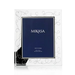 Mikasa® Love Story 8 x 10 Photo Frame
