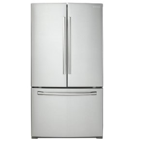 Samsung 25.5 cu. ft. French Door Refrigerator in Stainless Steel-RF260BEAESR - The Home Depot