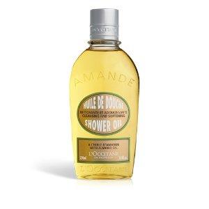 Almond Shower Oil For Dry Skin | Shower Oil L'Occitane