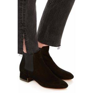 Demi Suede and Metallic Boots   Moda Operandi