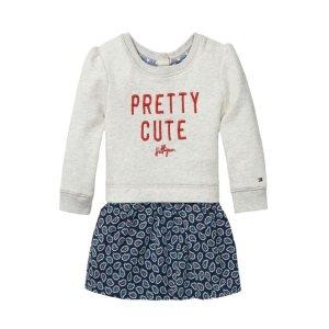 TH KIDS LAYERED DRESS | Tommy Hilfiger