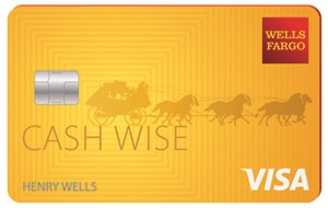 NEW! Earn a $200 cash rewards bonus Wells Fargo Cash Wise Visa® Card