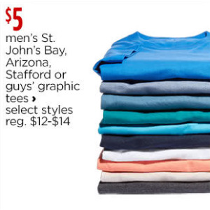 T-shirts Shirts for Men - JCPenney