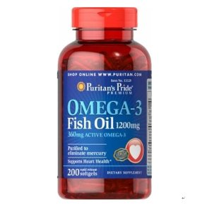 3  for $9.99 Puritan's Pride Omega-3 Fish Oil 1000 mg