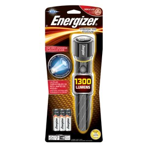 Energizer Alkaline 1300-Lumen LED Handheld Battery Flashlight with with Battery Included