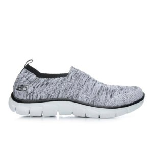 Women's Skechers Inside Look 12419 White/Black | Shoe Carnival