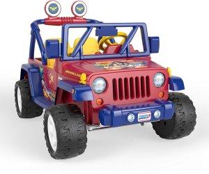 $179.39费雪Fisher-Price 神奇女侠儿童电动吉普玩具车