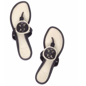 Tory Burch Miller Fringe Sandal, Leather