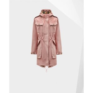 Womens Pink Utility Parka | Official US Hunter Boots Store