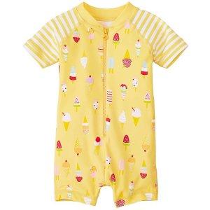 Baby Swimmy Rash Guard Suit | Toddler Girl Swim