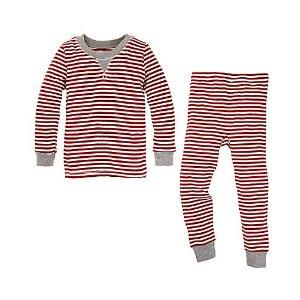 Candy Cane Baby Organic Cotton Pajamas