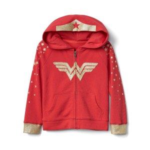 babyGap | Wonder Woman™ zip hoodie | Gap