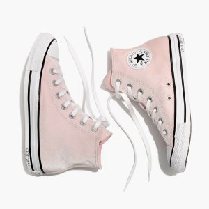 Converse Chuck Taylor All Star High-Top Sneakers in Velvet