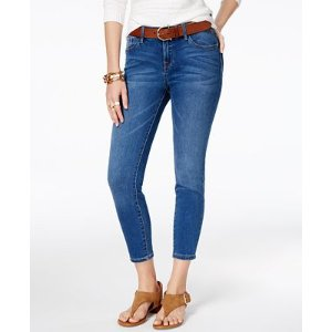 Tommy Hilfiger Greenwich Cropped Skinny Jeans, Only at Macy's - Jeans - Women - Macy's
