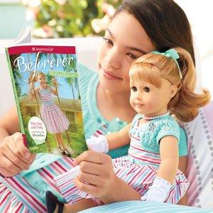 $98(原价$115)一日闪购:American Girl 美国洋娃娃BeForever系列娃娃套装特卖