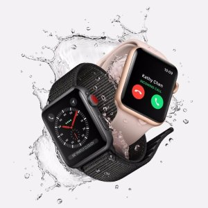 Free 3 mo. Service & Activation Fee Apple Watch Series 3 Cellular sold by Carriers