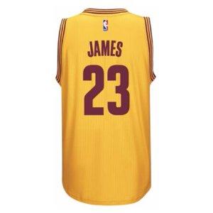 adidas NBA Revolution 30 Swingman Jersey - Men's - Clothing - Cleveland Cavaliers - LeBron James - Gold