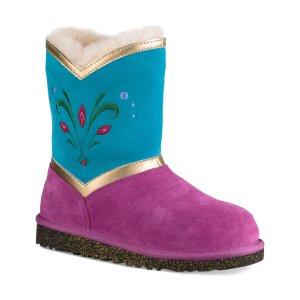 UGG® Royal Purple Elsa Coronation Suede Boot - Kids | zulily