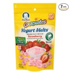 Gerber Graduates Yogurt Melts, Strawberry, 1 Ounce (Pack of 7)