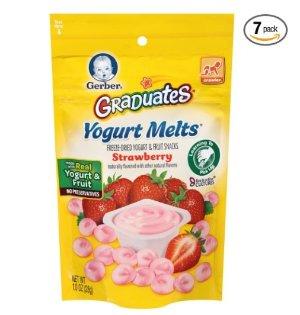 $13.25Gerber Graduates 酸奶溶豆 草莓果味 7包
