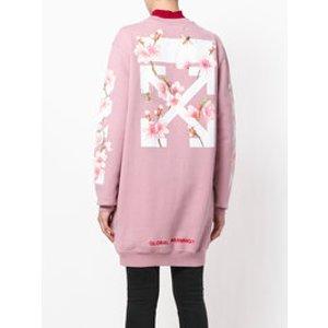 Off-White Flower sweatshirt