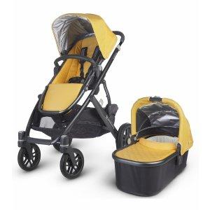 UPPAbaby 2016 VISTA Stroller - Maya (Marigold/Carbon)