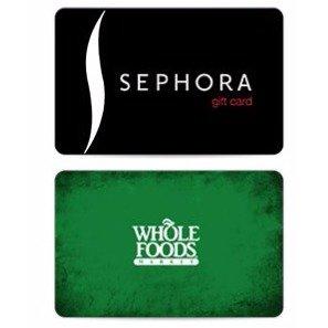 免费送焦糖芝士爆米花买$25 Sephora、Nordstrom、Whole Foods等礼卡