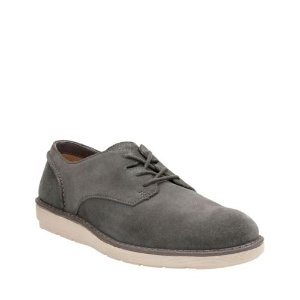 Fayeman Lace Dark Grey Suede - Men's Oxford Shoes - Clarks® Shoes Official Site