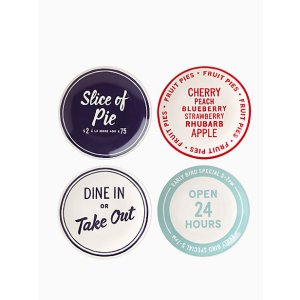 order's up tidbit plate set