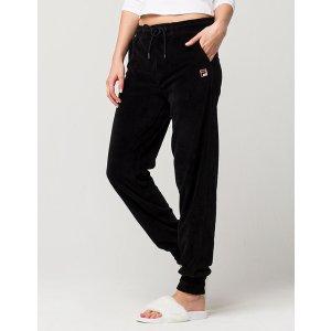 FILA Jodi Womens Velour Jogger Pants 296719100 | Pants + Joggers
