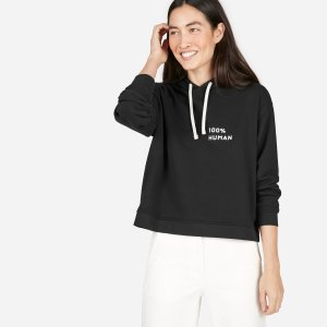 The 100% Human French Terry Hoodie in Small Print | Everlane