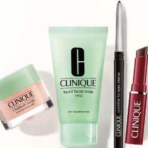 Free post workout pretty kitwith any $45 purchase @ Clinique