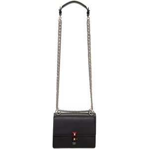 Fendi: Black Mini Chain Bag | SSENSE