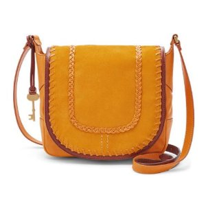Lennox Small Saddle Bag Crossbody