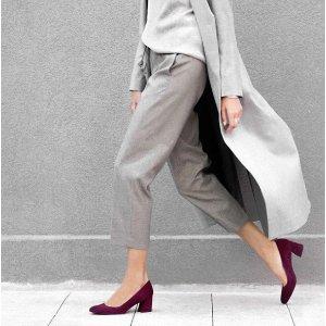 Marymid Low Block Heel Pumps - Shoes | Shop Stuart Weitzman